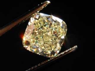 19ct Cushion Cut Fancy Yellow IF GIA Amazing Stone R4340 Diamonds by