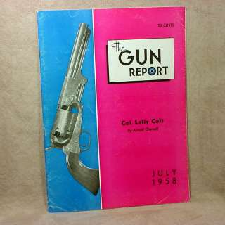 1958) Col. Lally Colt, Van Choate Rifle, Lt. Col. W. L. Curry