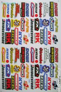 suzuki moto x mini bike helmet decal motorcycle sticker