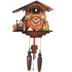 Black Forest German Cuckoo Clock with Twirling Dancers Home & Kitchen