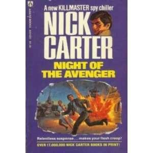 Night of the Avenger (9780426134695) Nick Carter Books
