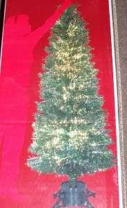 Fiber Optic Color Changing 6ft Tall Christmas Tree NEW