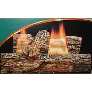 Comfort Glow 24 Inch Echo Valley Oak Vent Free Propane Gas
