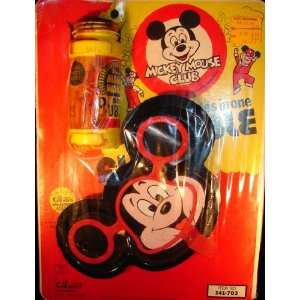Vintage Mickey Mouse Club Disney Bubble Fun blower 3