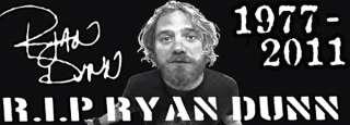 RIP Ryan Dunn Bumper Sticker Jackass CKY Viva La Bam