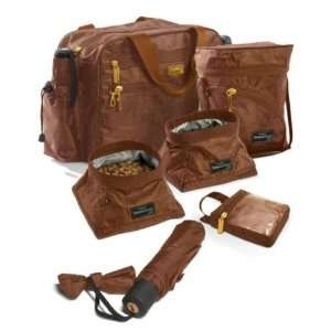 Jaradén Overnight Insulated Pet Travel Bag Brown