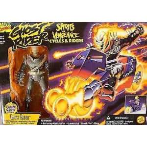 Cycles & Riders Ghost Rider with Ghost Fire Cycle Toys & Games