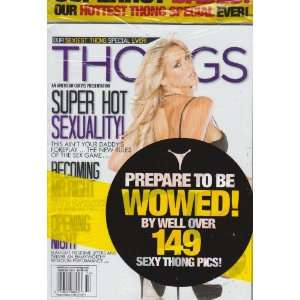 American Curves Presents Thongs Magazine Winter 2010 Books
