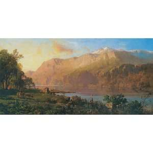EMERALD LAKE NEAR TAHOE BY THOMAS HILL CANVAS REPRODUCTION