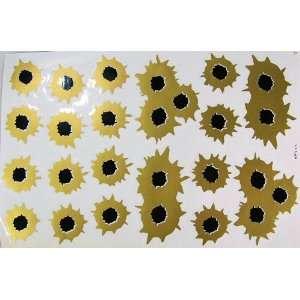 Gun Shooter Bullet Car Decals Graphics Vinyl Sticker