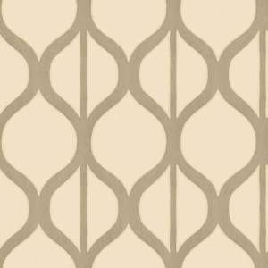 Coniston Trellis Pearl Wallpaper in Shand Kydd: Home