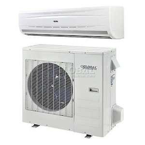 Global Single Zone Ductless Split Heat Pump 24000 Btu 208