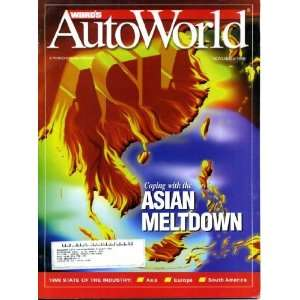 com Wards Auto World November 1998 Asian Meltdown, GM Consolidating
