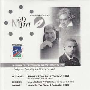 Three Bs Live Beethoven, Bartok, Berkeley, Sanchez, Varney Music