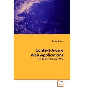 Context Aware Web Applications: The Model Driven Way