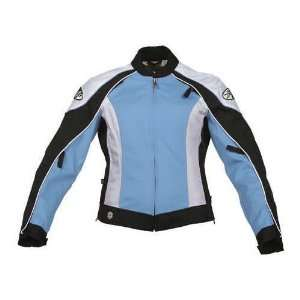JOE ROCKET LOTUS LADIES TEXTILE JACKET HAWAII BLUE/WHITE