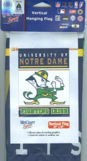 NOTRE DAME FIGHTING IRISH ~ OFFICIAL OUTDOOR HOUSE FLAG
