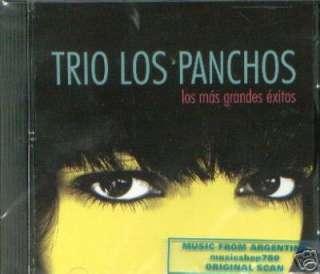 LOS PANCHOS, LOS MAS GRANDES EXITOS. FACTORY SEALED CD. IN SPANISH