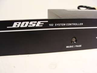 Bose Model 102 Series Speaker System Controller for Freespace Speakers