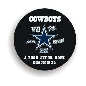 The Dallas Cowboys NFL Football 5 Time Super Bowl