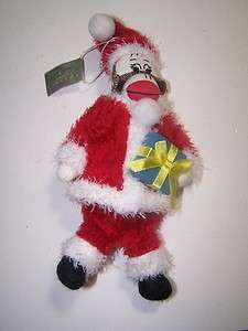 Monkey Midwest Seasons of Cannon Falls Christmas Ornament NWT