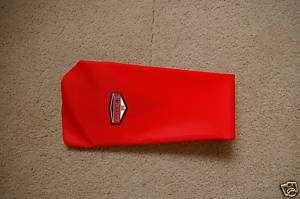 EXECUTE GRIPPER SEAT COVER HONDA CRF450 CRF450R RED