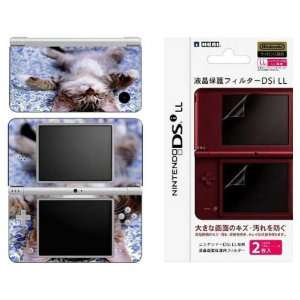 Nintendo DSi XL Decal Skin   Cute Kitty Cat