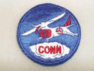 1960S CONNECTICUT CIVIL AIR PATROL PATCH CUT EDGE