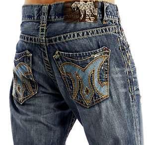 MEK Denim Mens CYPRESS Jeans Boot Cut   31 x 34 NEW