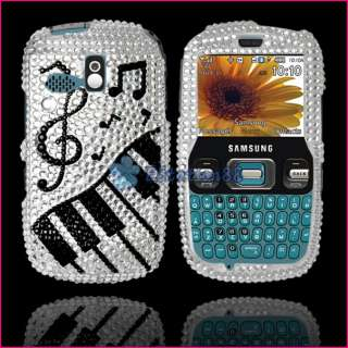 Bling Diamond Music Case For Samsung R350 Link Freeform