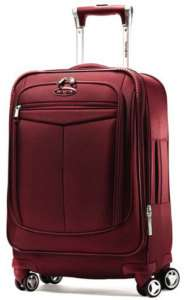 Samsonite Silhouette 12 Carry On Bag 21 Upright Spinner Luggage Red
