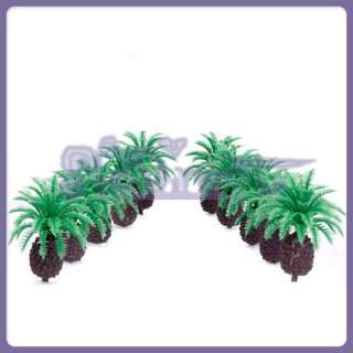 Lot 10 MODEL Cycas TREE Railroad House Park Z SCALE