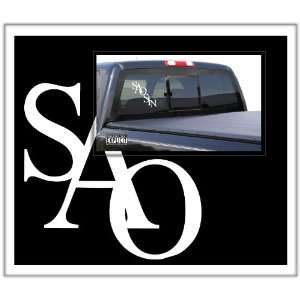 SAOSIN Large Vinyl Decal