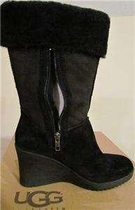 Ugg Womens Joslyn BLACK Boot VERY RARE Size 9/Euro 40