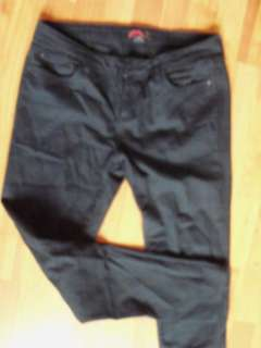Rue 21 Black Skinny Jeans Stretch 30 x 30 EUC 5 Pocket