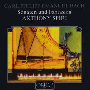 C.P.E. Bach Fanatasia in G Mi Spiri Anthony Music