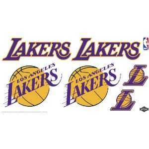 Skinit NBA Los Angeles Lakers Skinit Car Decals Medium   49 by 25 Inch