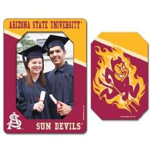 Arizona State Sun Devils Magnet   Die Cut Vertical