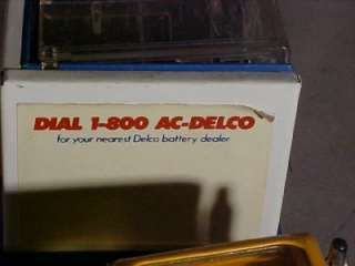 VINTAGE 1980 BUDDY L SEMI TRUCK TOY DELCO BATTERIES NR