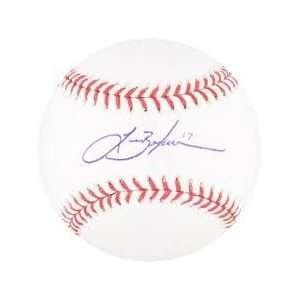 Lance Berkman St Louis Cardinals Hand Signed Autographed