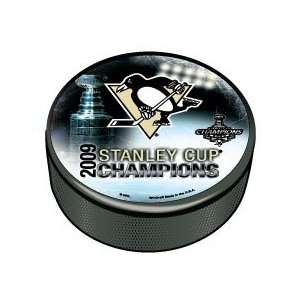 Pittsburgh PENGUINS NHL 2009 Stanley Cup Champs Photo PUCK