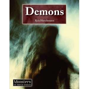 Demons (Monsters and Mythical Creatures) (9781601521477