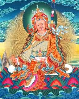 5x7 DEITY PHOTO GURU RINPOCHE TIBET TIBETAN BUDDHIST