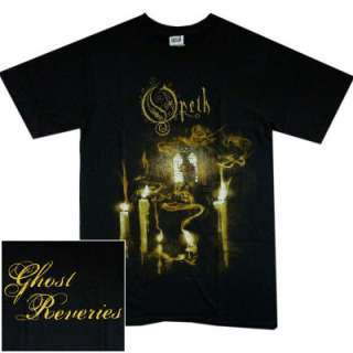OPETH Ghost Reveries Official T SHIRT S M L XL Heavy Metal T shirt NEW