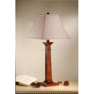 Mission Brown Ridgewell 33 Ridgewell Table Lamp: Home Improvement
