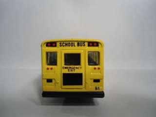 1985 Matchbox School Bus Loose MB45 E Yellow District 2