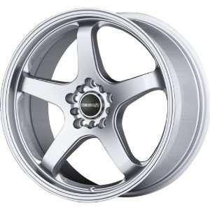 Tenzo R Meister Hyper Silver Wheel (17x7/5x100mm