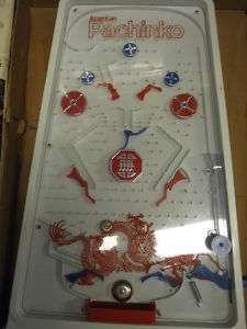 1970s Pachinko arcade game red dragon w box