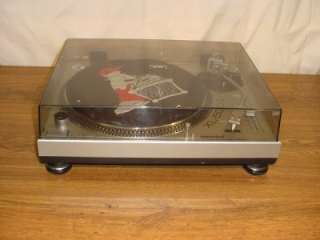 GEMINI XL 500 II DIRECT DRIVE MANUAL TURNTABLE