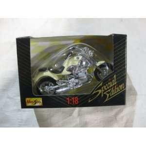 Maisto Die Cast Metal Kawasaki Motorcycle 118 Scale